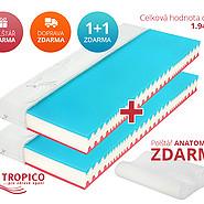 Matrace Tropico Forza Hard 20 cm Akce 1+1 Zdarma - matrace-tropico-forza-hard-20-cm-akce-matrace-1-plus-1-zdarma-darek-doprava-zdarma.jpg