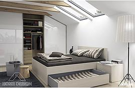 INSPIRACE pro Vaši ložnici s matrací King & Queen Perfect