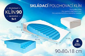 Polohovací klín 90 do postele 5v1 - proti chrápání, apnoe i refluxu. - klin-90-do-postele.jpg