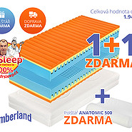 Matrace Slumberland Frodo 22 cm akce 1+1 zdarma - matrace-slumberland-frodo-22-cm-matrace-akce-1-plus-1-darek-doprava-zdarma.jpg