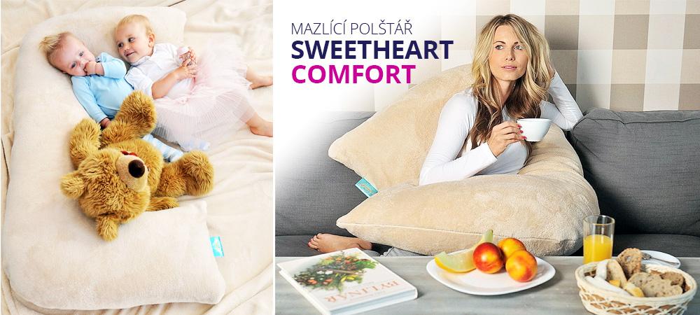Mazlící polštář SWEETHEART COMFORT