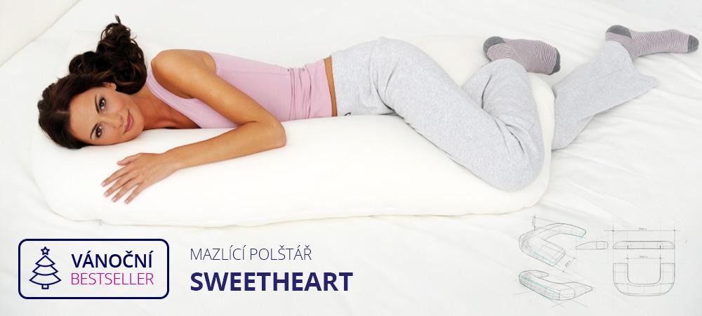 Mazlící polštář SWEETHEART