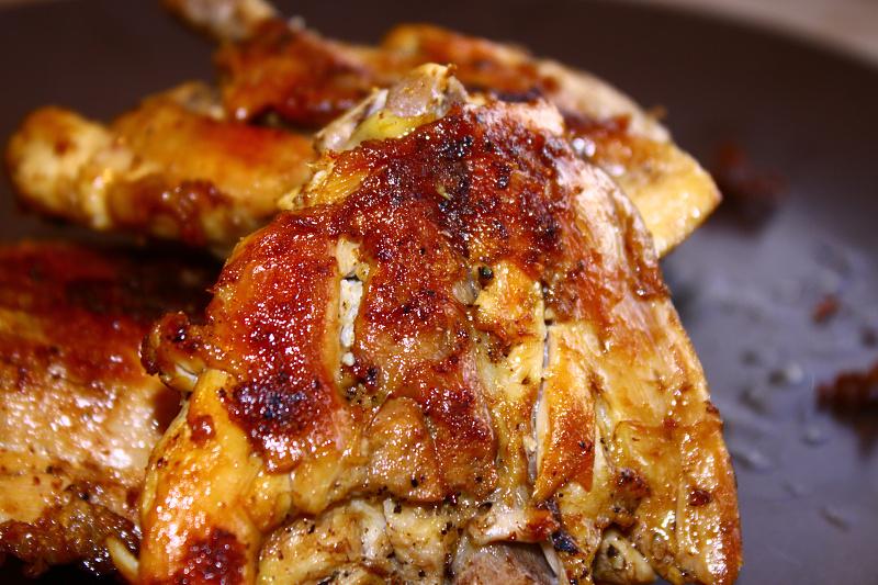 Dukanova dieta recepty: Chutné kuřátka se solnou krustou.
