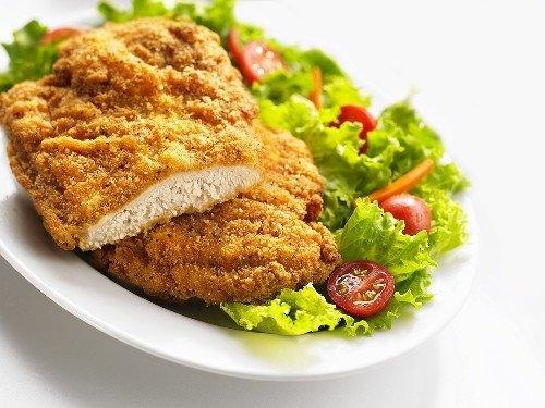 Krabičková dieta domácí. Recept na kuřecí řízečky.